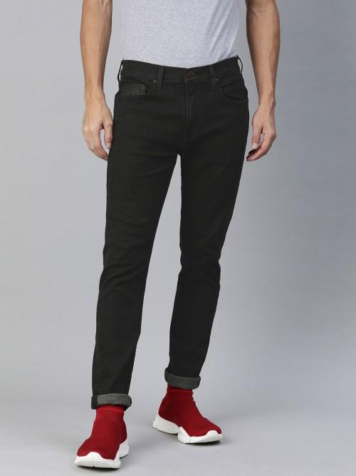 Levis Solid Black Skinny Fit Jeans