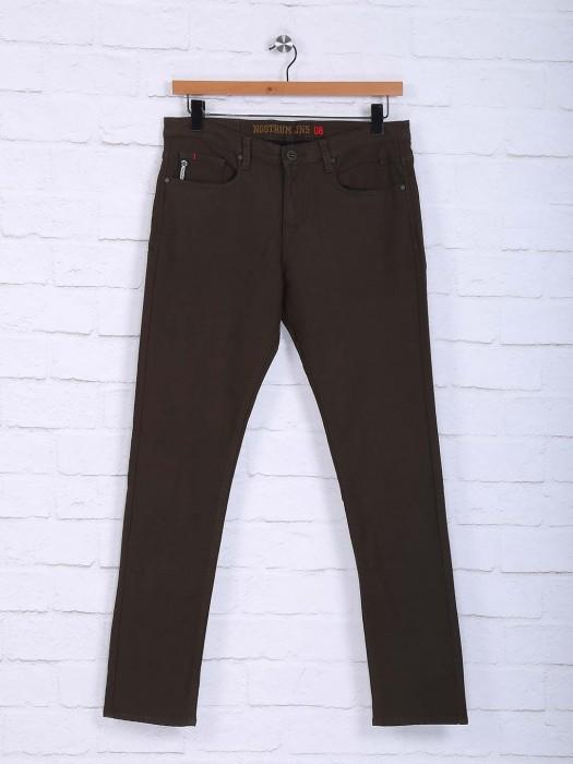 Nostrum Brown Hue Trouser