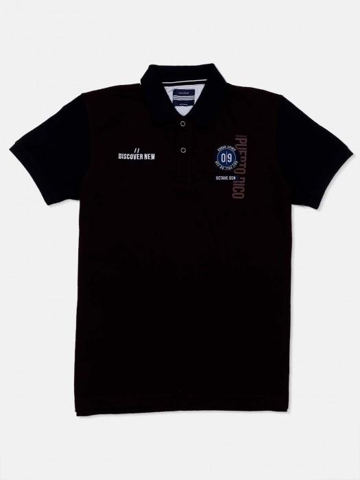 Octave Slim Fit Purple Solid T-shirt
