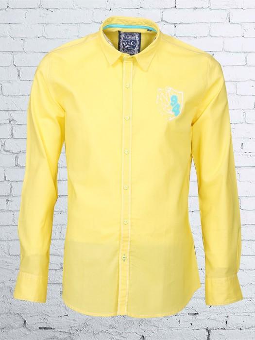 R & C Yellow Cotton Shirt