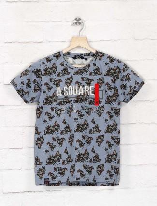 99 Balloon grey boys printed pattern t-shirt