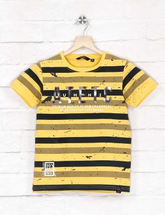 99 Balloon yellow and black stripe t-shirt