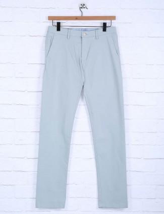 Allen Solly sky blue casual wear trouser