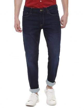 Allen Solly slim fit navy color jeans