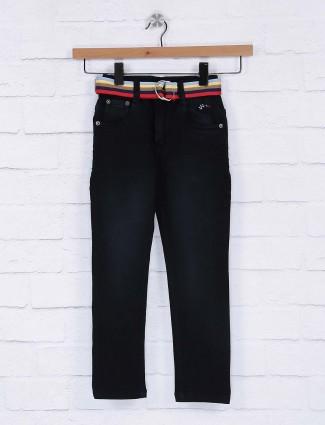 Bad Boys dark navy hue solid jeans