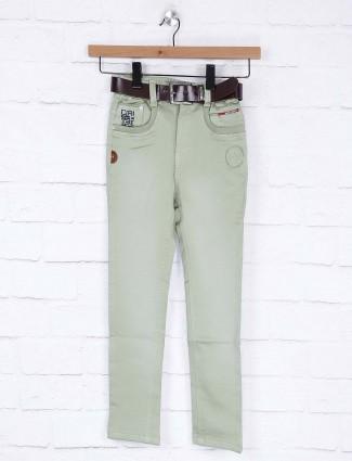 Bad Boys light green slim fit jeans
