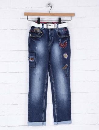 Bad Boys navy hued denim jeans