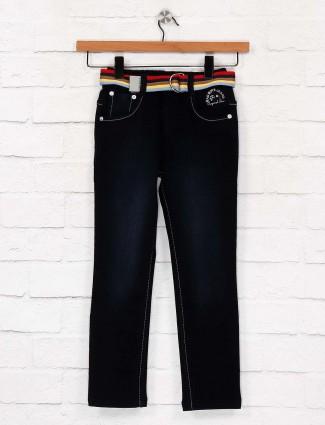 Bad Boys solid dark navy hued jeans