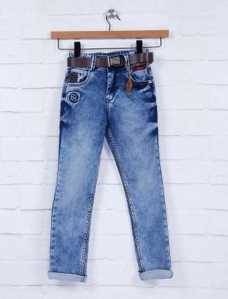 Bad Boys washed blue color jeans