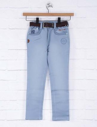 Bad Boys washed sky blue jeans