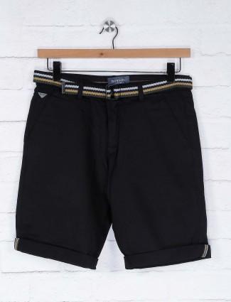Beevee presented black color shorts