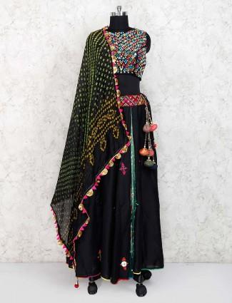 Black color cotton lovely lehenga choli