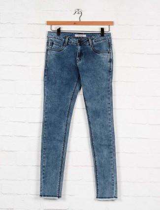 Boom blue hue casual wear denim jeans