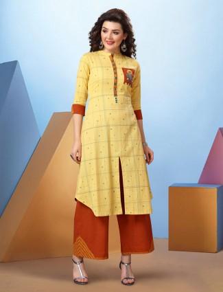 Casual occasion cotton kurti set