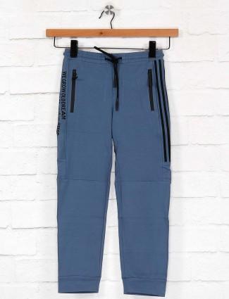 Cookyss slim fit blue cotton payjama