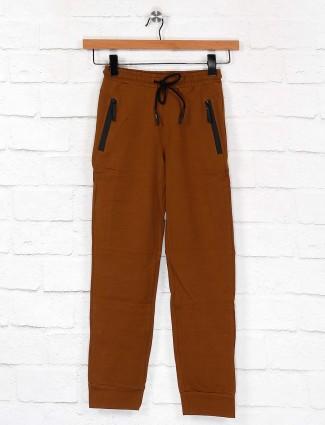 Cookyss solid brown hue payjama