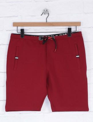 Deepee presented maroon comfortable shorts
