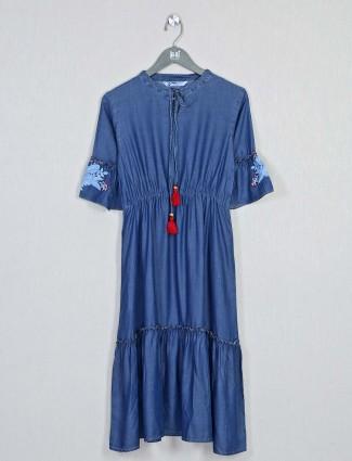 Festive wear blouse cotton kurti for women