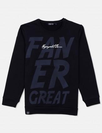 Freeze presented navy cotton sweatshirt