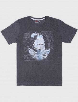 Fritzberg dark grey casual t-shirt