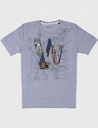 Fritzberg grey printed t-shirt