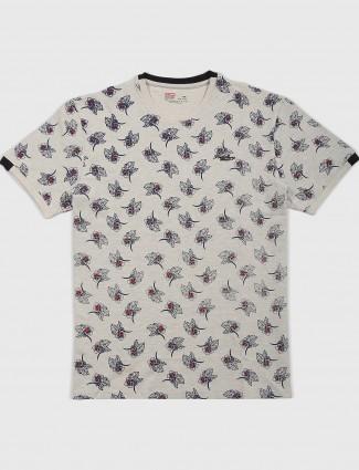 Fritzberg printed beige t-shirt