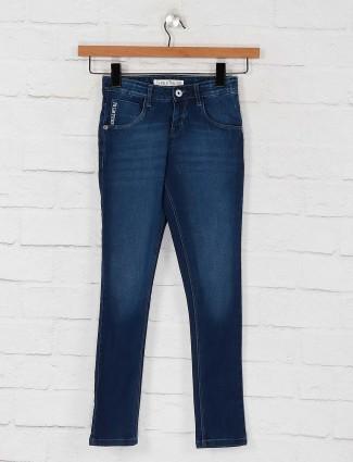 Gini and Jony dark navy colored jeans