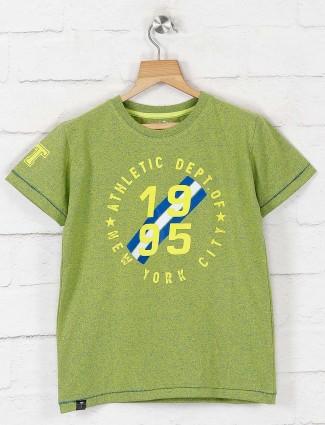 Gini and Jony green printed t-shirt