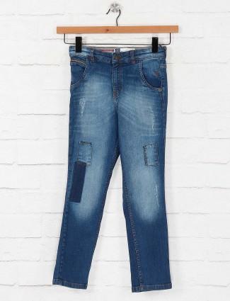 Gini and Jony regular blue jeans