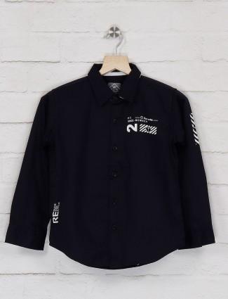 Gini and Jony solid black hue shirt