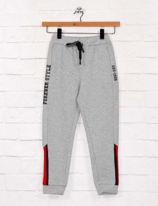 Grey hue cotton fabric solid payjama