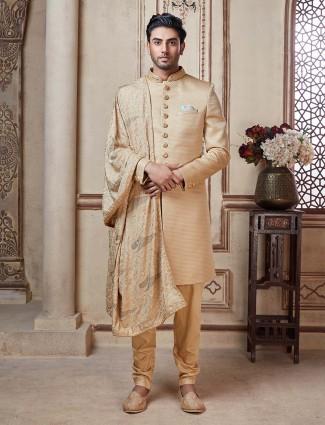 卡其布毛圈人造丝的印度洋西服