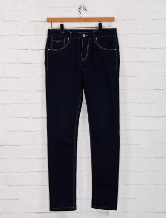 Killer blue solid mens jeans
