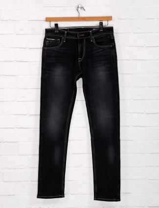 Killer washed black slim fit jeans