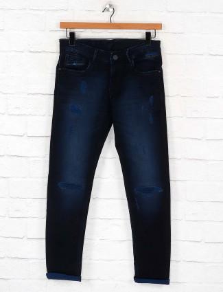 Kozzak denim dark navy slim fit jeans