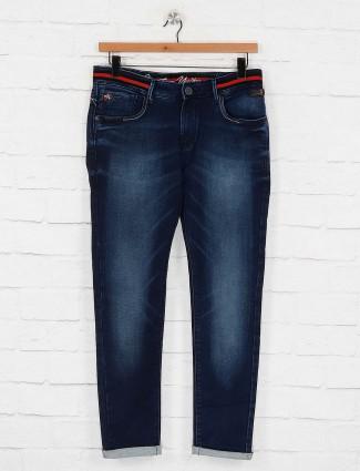 Kozzak navy hued simple jeans