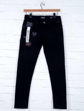 Kozzak solid black jeans