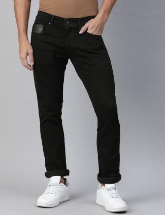 Levis 512 slim taper fit solid black jeans