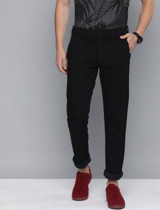 Levis solid black 511 slim fit jeans