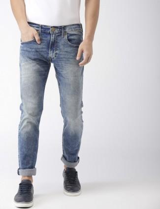 Levis washed blue color jeans