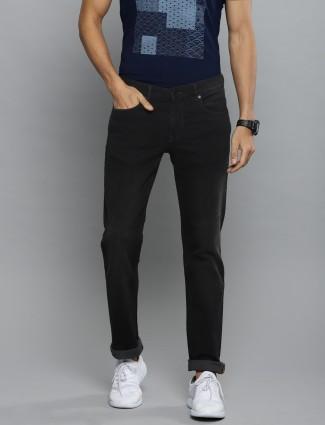 LP solid black color mens jeans