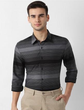 LP Sport black stripe design shirt