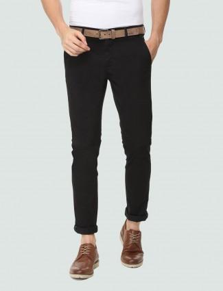 LP Sport presented black color solid trouser
