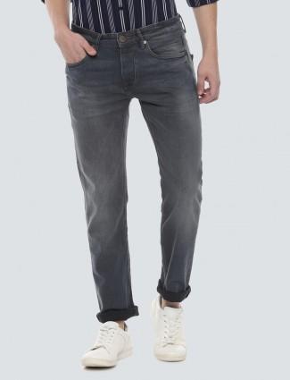 LP Sport solid dark grey hue slim fit jeans
