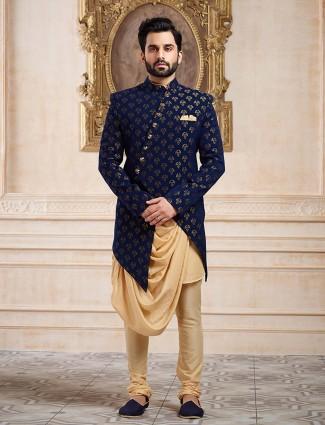 60ac2278 Indo western for men, Wedding Indowestern Sherwani Shopping, Latest ...
