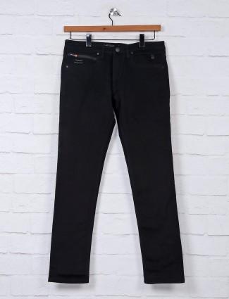 Nostrum black casual slim fit jeans