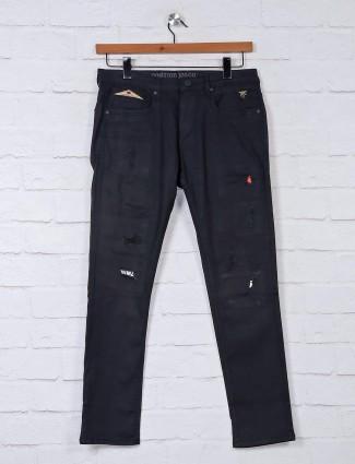 Nostrum black solid jeans