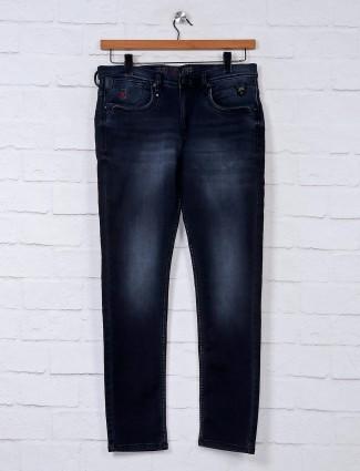 Nostrum presented solid black jeans
