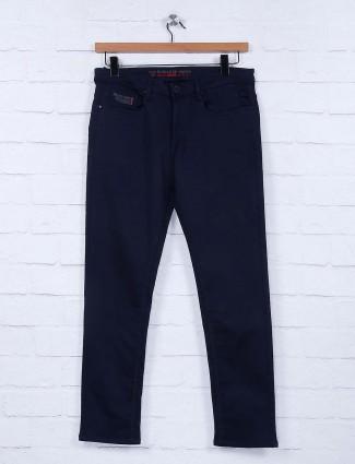Nostrum presented solid navy hue jeans