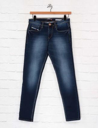 Nostrum presented washed navy jeans